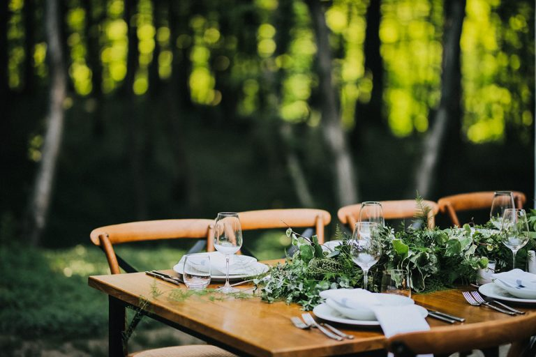 Woods stolovi detalj