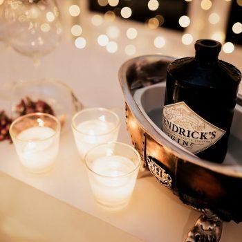 Hendricks gin detalj